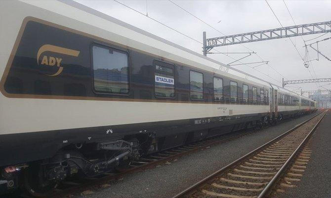 Marmaray'dan ilk uluslararası tren geçti