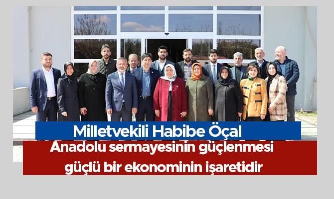 Anadolu sermayesinin güçlenmesi, güçlü bir ekonominin işaretidir
