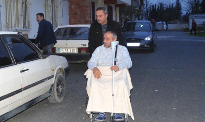 Emekli polis oğlunu vurdu