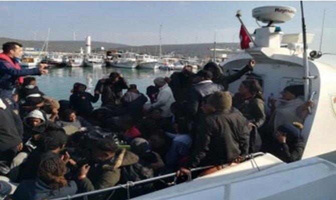 Bir botta 60 kişiyle ölüme yolculuk