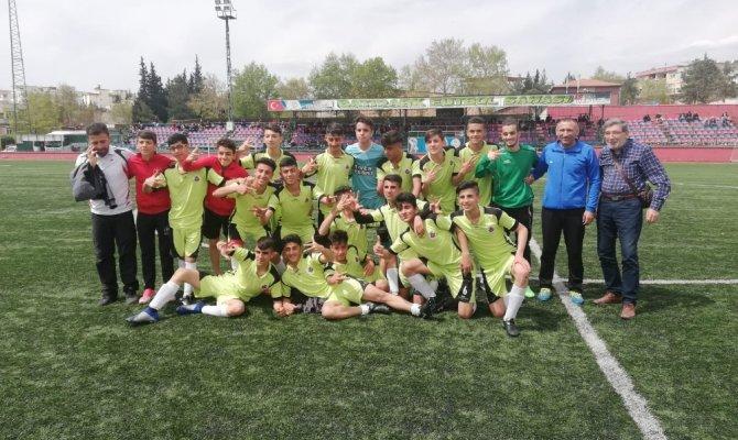 U15 Kahramanmaraş grup şampiyonu Elazığ Yolspor oldu
