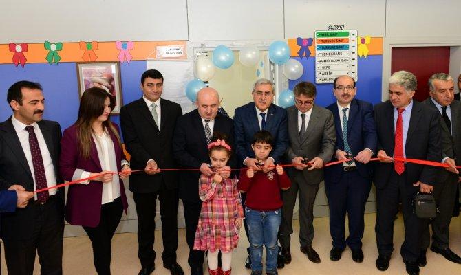 Kahramanmaraş'ta okullarda akademik çalışma odaları açıldı