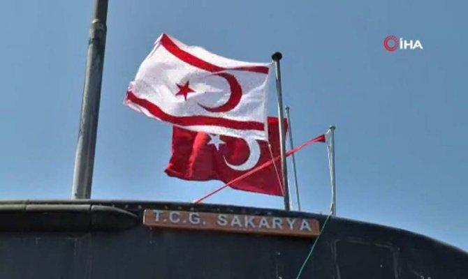 TCG Sakarya Denizaltısı KKTC'de