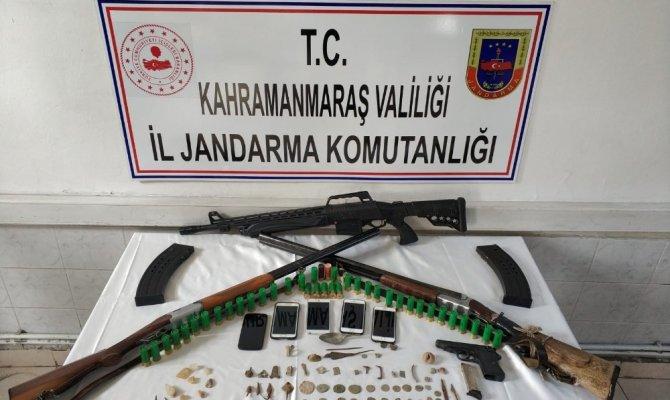 Kahramanmaraş'ta tarihi eser kaçakçılığı yapanlar yakalandı