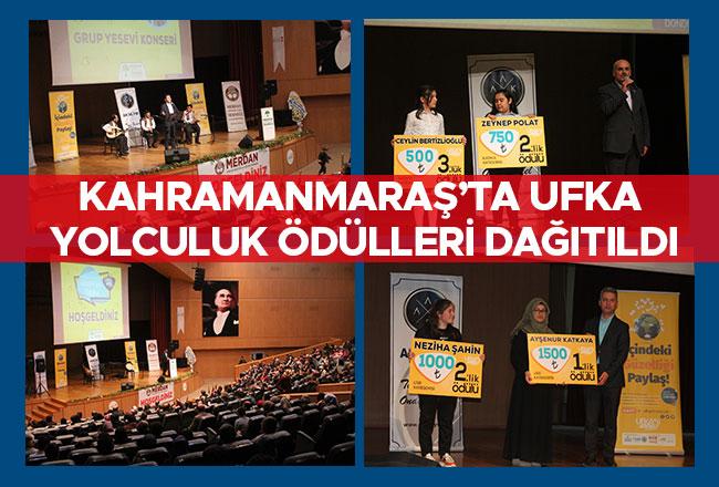 Kahramanmaraş'ta Ufka Yolculuk ödülleri dağıtıldı
