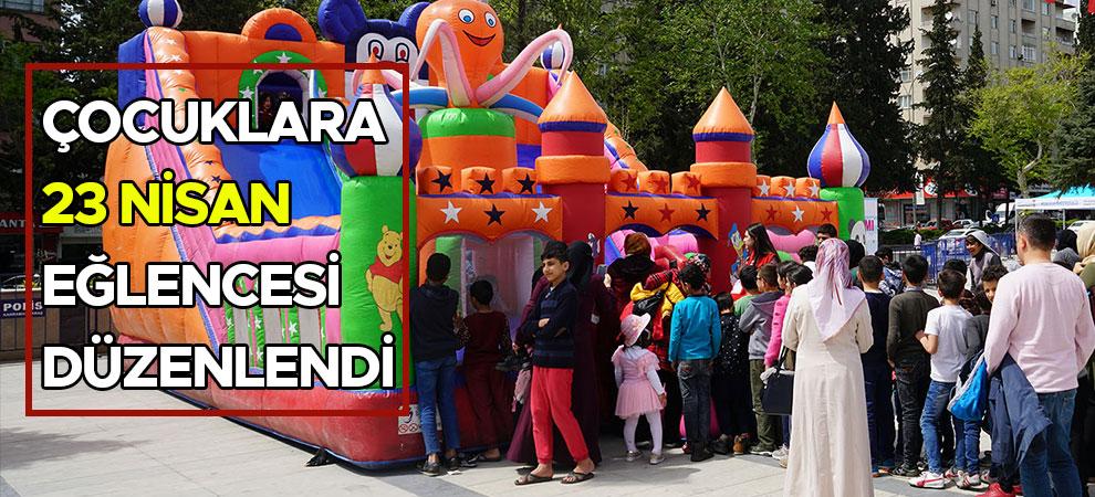 Çocuklara 23 Nisan Eğlencesi Düzenlendi