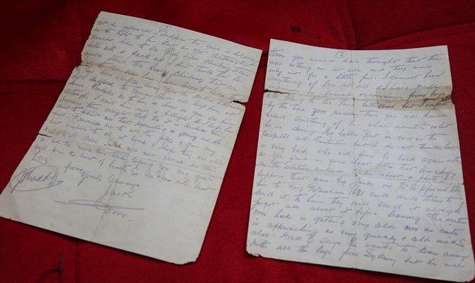 Anzak askeri Mehmetçiğin dostluğunu mektubunda anlattı