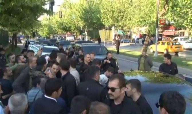 Cumhurbaşkanı Erdoğan, AK Parti İstanbul İl Başkanlığından ayrıldı