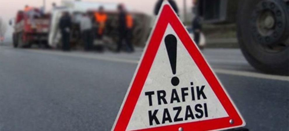 Kahramanmaraş'ta trafik kazası meydana geldi