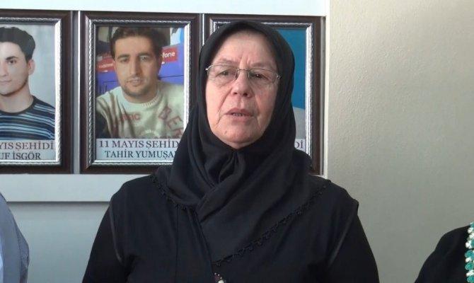 Acılı anneden Yusuf Nazik'e, Evladımın katili yüzüme bak