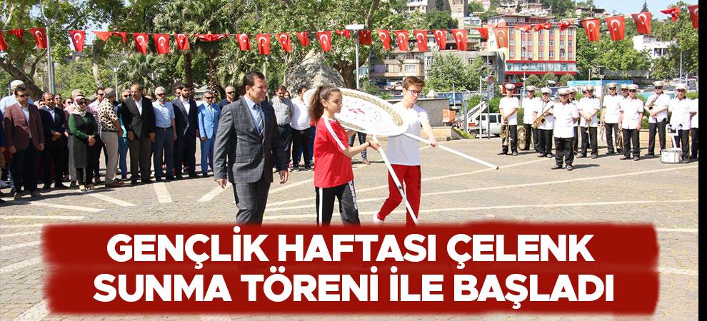 Kahramanmaraş'ta Gençlik Haftası Çelenk Sunma Töreni İle Başladı