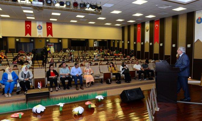 KSÜ Sağlık Hizmetleri MYO Öğrencileri Çocuk Haklarını Drama Gösterisi İle Anlattı