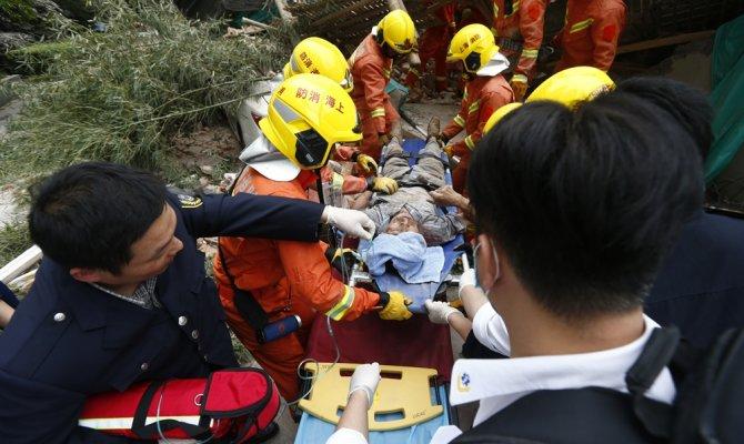 Çöken binada 5 kişi hayatını kaybetti
