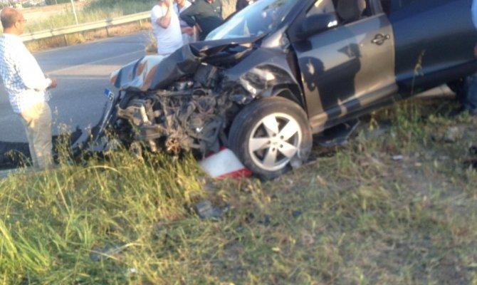 Kahramanmaraş'ta feci kaza!1'i bebek 5 kişi yaralandı