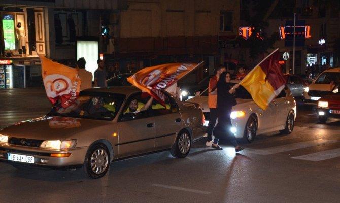 Kahramanmaraş  Galatasaray'ın şampiyonluğunu kutladı