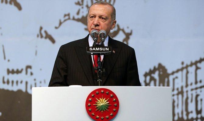 Bizim kızıl elmamız da büyük ve güçlü Türkiye'nin inşasıdır