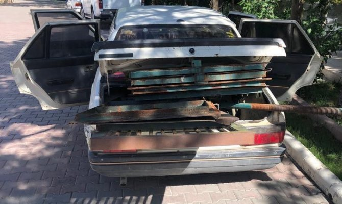 Elbistan'da çaldığı malzemeleri hurdacıya satmaya götürürken yakalandı