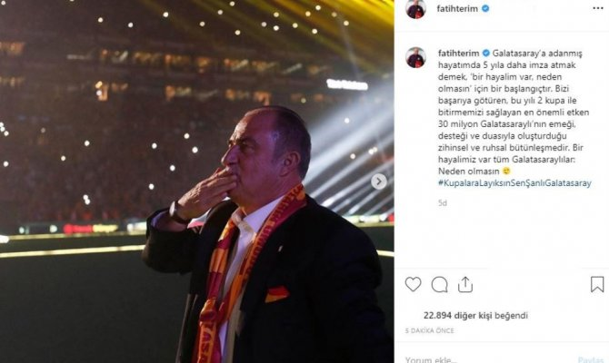 Bir hayalimiz var tüm Galatasaraylılar: Neden olmasın
