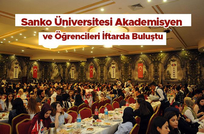 Sanko Üniversitesi Akademisyen ve Öğrencileri İftarda Buluştu