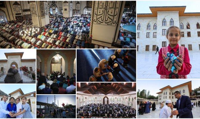 Ramazan Bayramı coşkuyla kutlanıyor