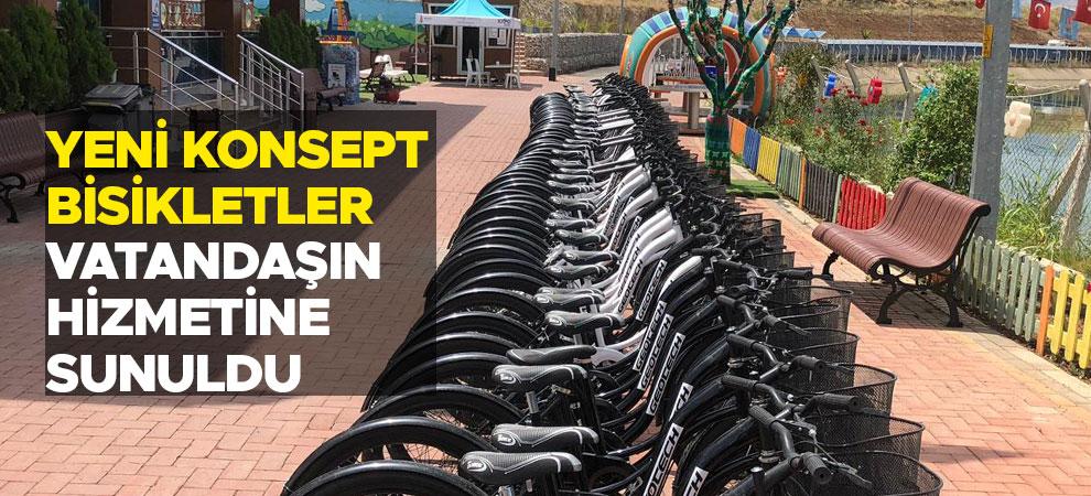 Yeni Konsept Bisikletler Vatandaşın Hizmetine Sunuldu
