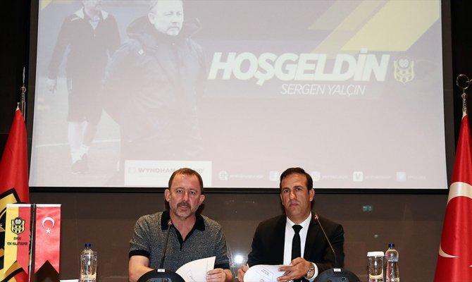 Sergen Yalçın resmen Yeni Malatyaspor'da