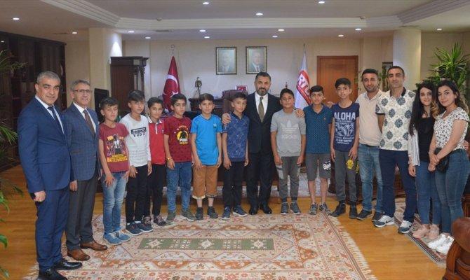Şırnaklı öğrenciler RTÜK'ü ziyaret etti