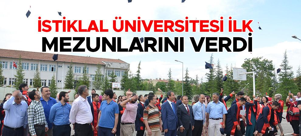 İstiklal Üniversitesi İlk Mezunlarını Verdi