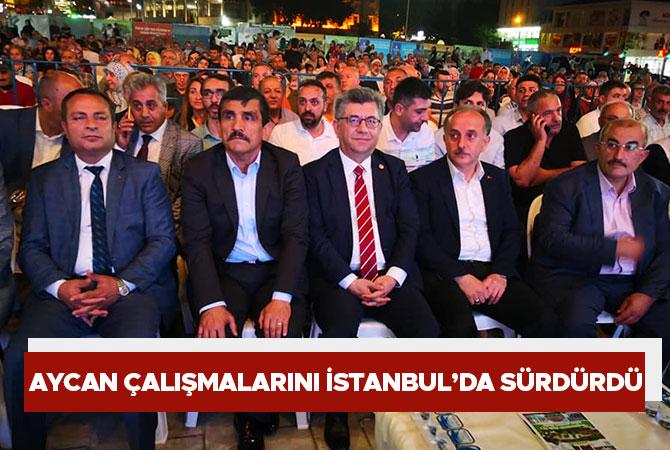 Aycan çalışmalarını İstanbul'da sürdürdü
