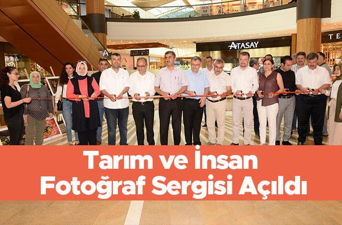 Kahramanmaraş'ta Tarım ve İnsan Fotoğraf Sergisi Açıldı