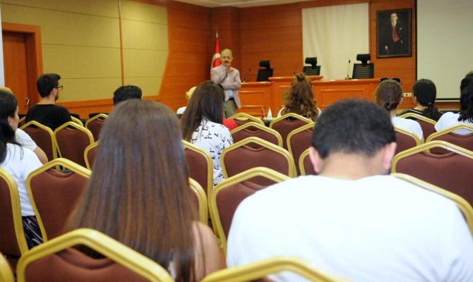 Sanko Üniversitesi Öğrencileri İş–Kur Tarafından Bilgilendirildi