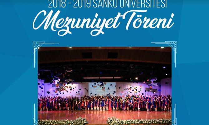 Sanko Üniversitesi Mezuniyet Töreni Heyecanı Yaşıyor