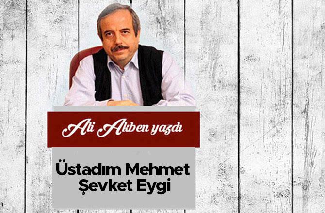 Üstadım Mehmet Şevket Eygi