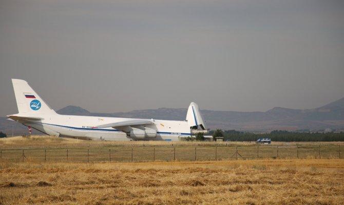 S-400 teslimatında onuncu uçak Mürted Hava Üssü'ne indi
