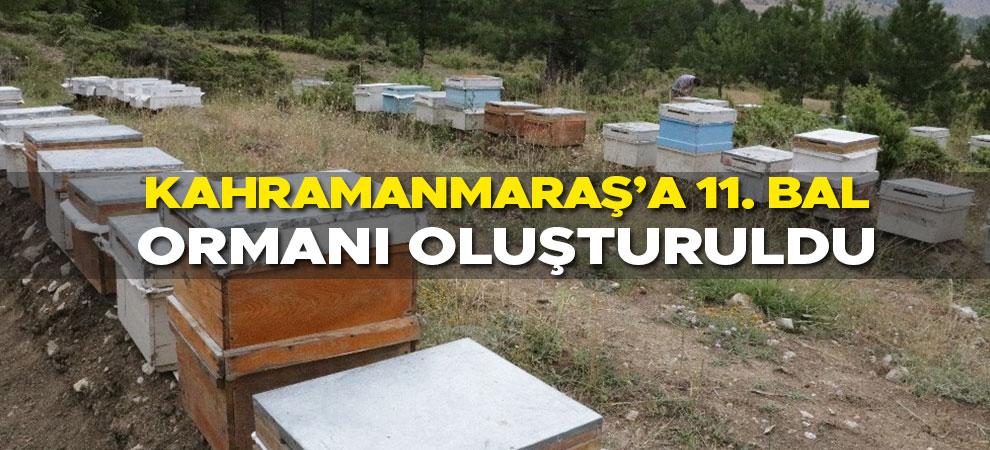 Kahramanmaraş'a 11. bal ormanı oluşturuldu