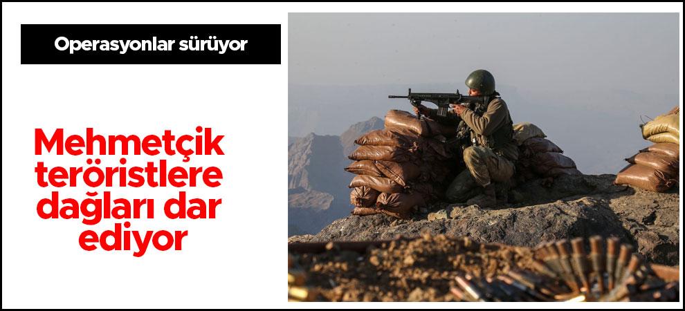 Mehmetçik teröristlere dağları dar ediyor