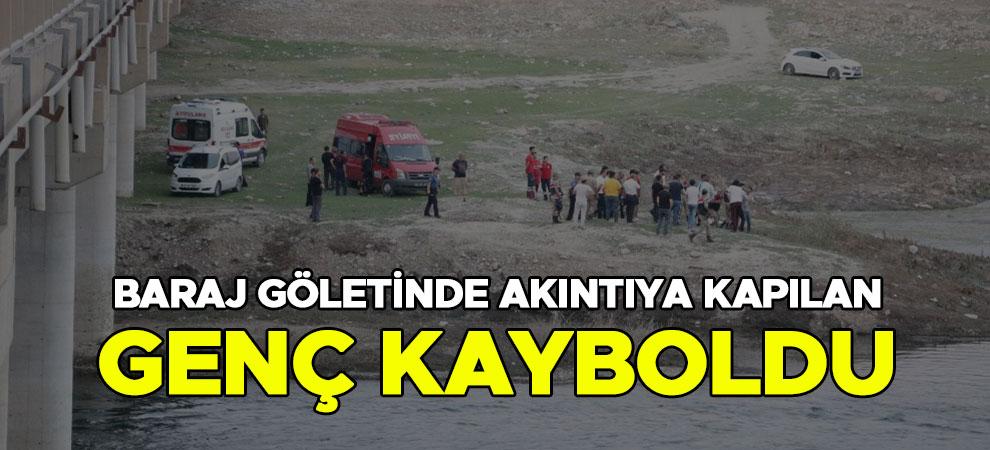 Kahramanmaraş'ta baraj göletinde akıntıya kapılan genç kayboldu