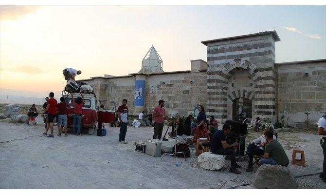 Film yapımcılarının yeni çekim merkezi: Zazadin Hanı