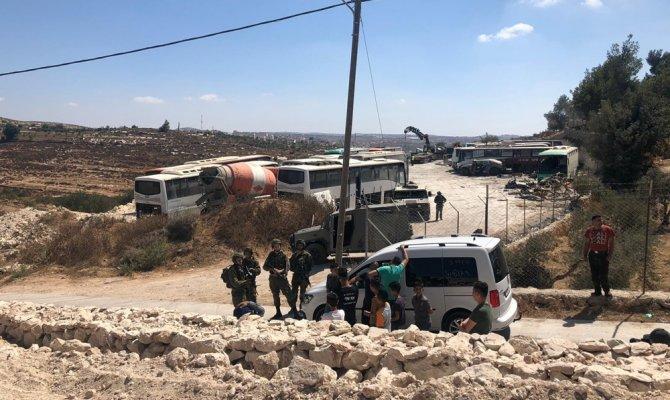 İsrail ordusu, Filistinlilere ait 30 evi yıkacak
