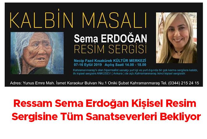 Ressam Sema Erdoğan Kişisel Resim Sergisine Tüm Sanatseverleri Bekliyor