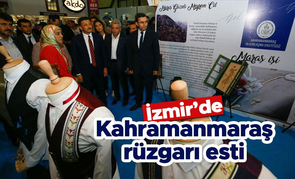 İzmir'de Kahramanmaraş Rüzgarı Esti