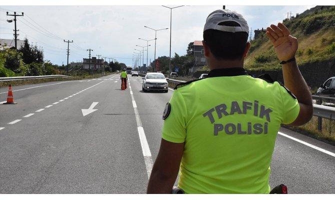 Yurt genelinde trafik güvenliği uygulaması yapıldı
