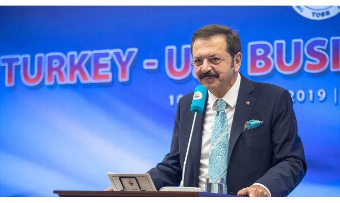 TOBB Başkanı Rifat Hisarcıklıoğlu: Türkiye-ABD Serbest Ticaret Anlaşması imzalanmalı