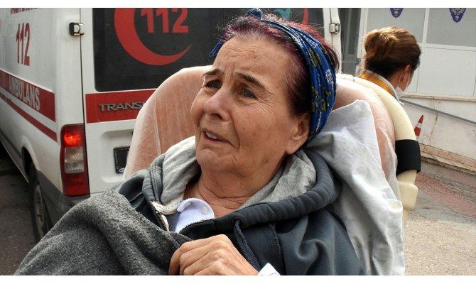 Fatma Girik yürüme güçlüğü dolayısıyla hastaneye yatırıldı