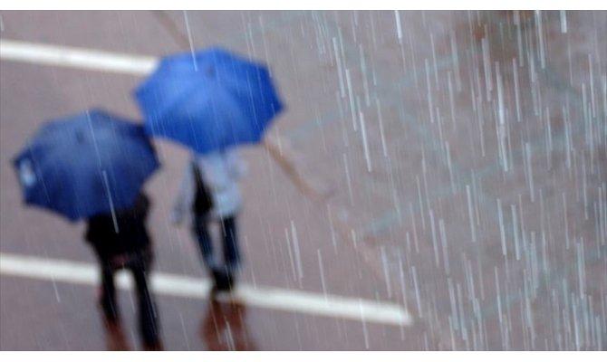 4 il gök gürültülü sağanak yağışa dikkat!