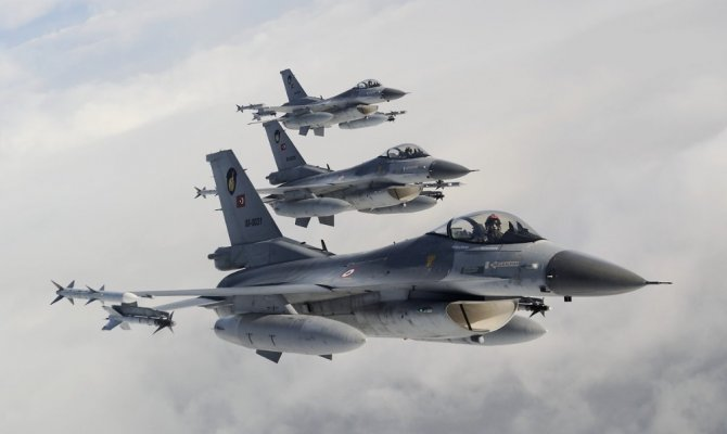 Hava operasyonları ile 15 terörist öldürüldü