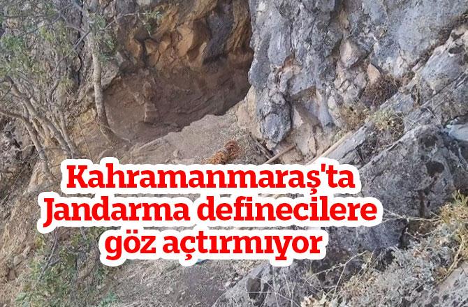 Kahramanmaraş'ta Jandarma definecilere göz açtırmıyor