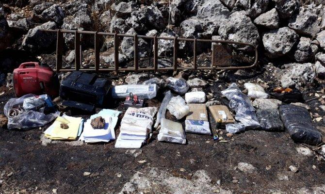 PKK'ya büyük darbe üç sığınak imha edildi