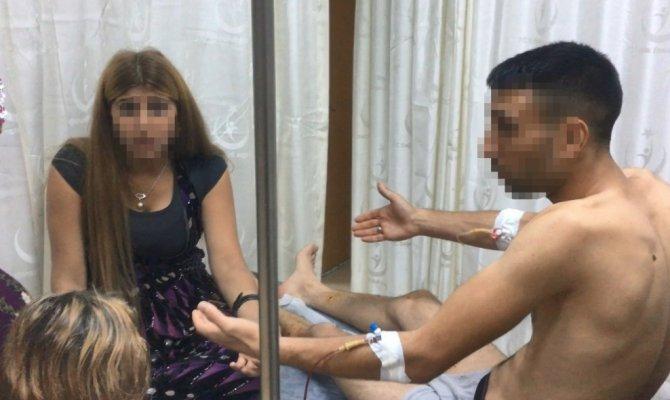 Akrabalar düğünde birbirlerine girdi: 4 yaralı