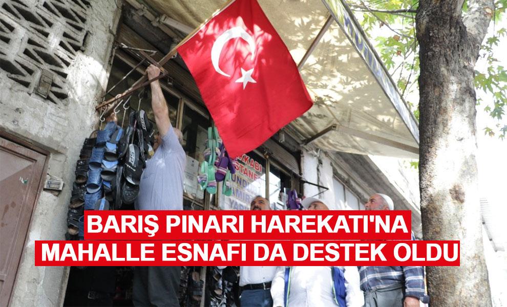 Kahramanmaraş'ta Barış Pınarı Harekatı'na mahalle esnafı da destek oldu